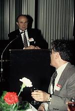 Kálmán Magyar opens the banquet