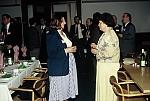 Enikő M. Basa and Judit Magyar at the reception