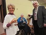 Lorraine Nagy, Ruth Biro and husband.