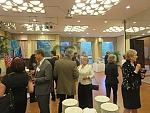 Friday evening reception at the Hungarian Embassy, Washington, DC.