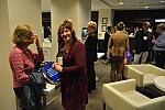 Julia Bock and Judit Havas at the banquet reception