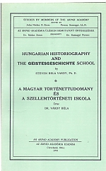 "Hungarian Historiography and the ""Geistesgeschichte"" School (Cleveland: Árpád Academy, 1974), 98 pp. (Bilingual publication on the occasion of invited membership to the Árpád Academy.)"